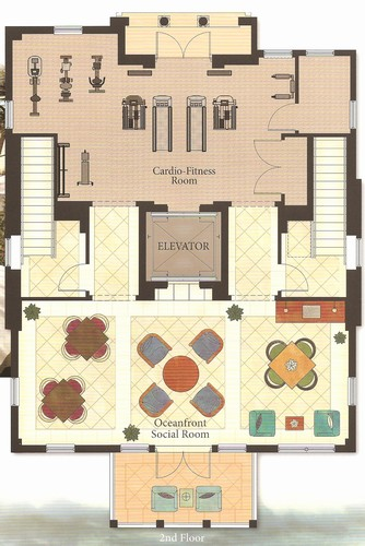 floor plan sea club